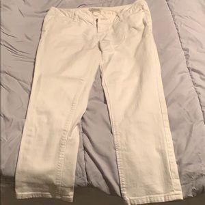 White Aeropostale Jean Capris Size 1/2